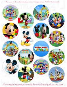 mickey mouse clubhouse cup cake toppers qtimages4u on