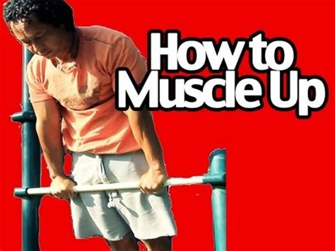 tutorial dance pull up how to do a muscle up pull up workout exercise tutorial