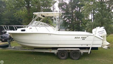 fishing boat for sale wa 2005 used sea pro 255 wa walkaround fishing boat for sale