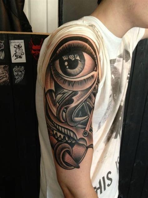 tattoo eye sleeve exle of eye tattoo designs eyes tattoo design for men