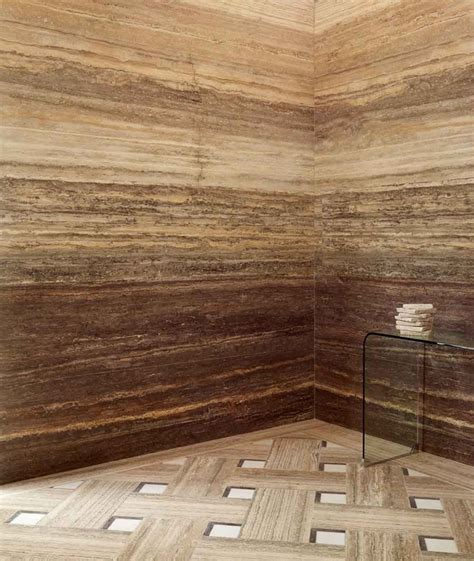 travertine wall vein cut travertine stone walls for shower lapicida