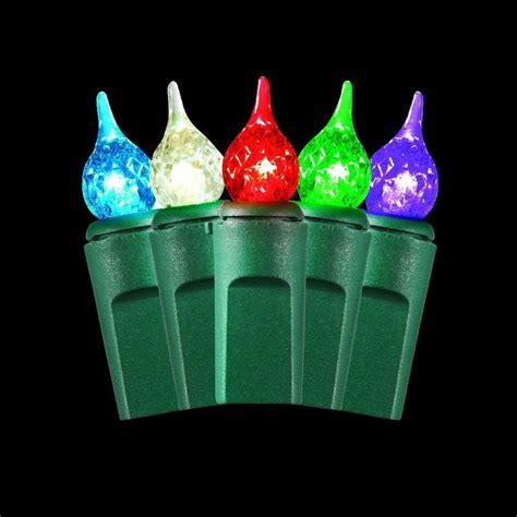 teardrop christmas lights martha stewart living 50 light warm multi color small teardrop light set ty1196 1415 the home