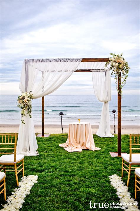Wedding Arch Canopy by A Wedding At Scripps Seaside Forum Coordinated By I Do