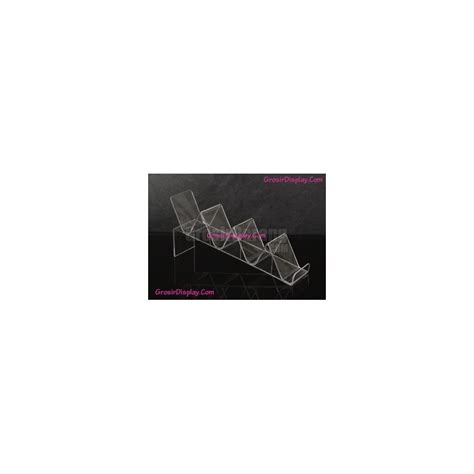 Tempat Anting Bludru Pink Display Pajangan Perhiasan Toko Aksesoris tempat display dompet acrylic bening pajangan toko 4 susun grosir display