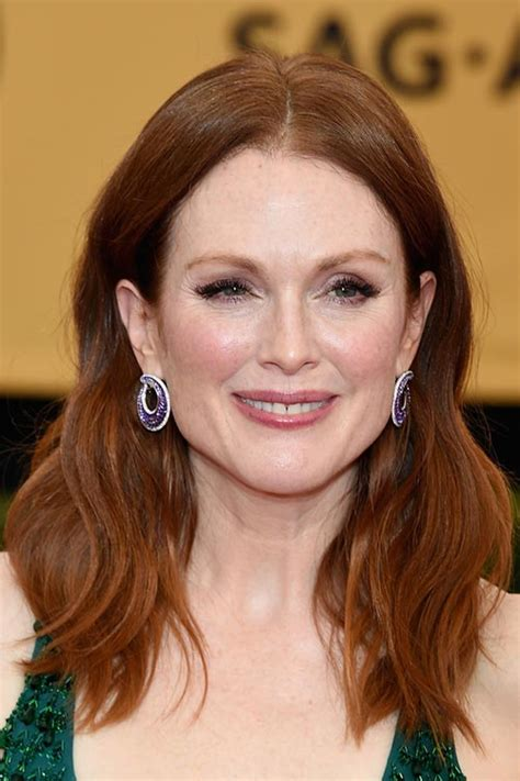 julianne moore hair care sag awards 2015 hairstyles and makeup fashionisers