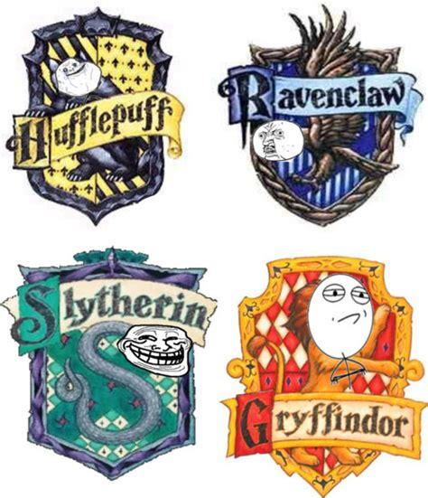 Harry Potter House Meme - meme harry potter houses
