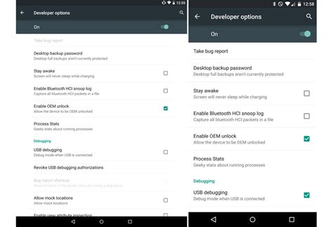 psa oem unlock on the nexus 6 and 9 requires checking a fyi android 5 0 introduces quot enable oem unlock quot option in
