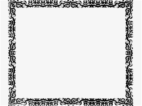 frame border template frame crafted textures powerpoint backgrounds ppt