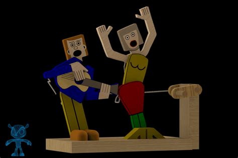 toy boat obj singing out loud wooden toy sketchup parasolid