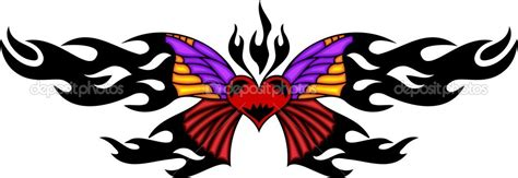 butterfly tattoo clipart 69 tribal butterfly clip art