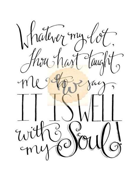 printable christian lyrics church song lyrics it is well with my soul hymn wall