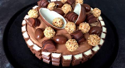 kinderbueno kuchen himmlische torte mit kinderschokolade