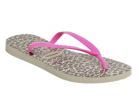 Sale Slim Pink Selop Sandal Fashion havaianas slim animals sand grey pink sandals