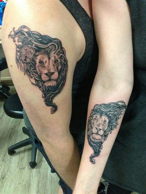 lion tattoo placement lion tattoo for her just put a crown on his head and you