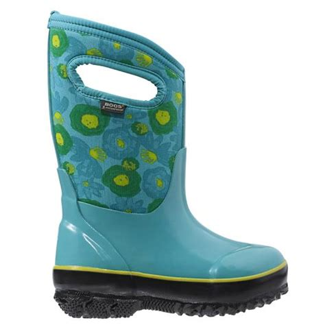 bogs snow boots bogs 71848 kid s classic watercolor insulated waterproof