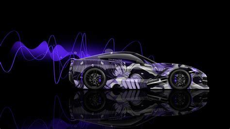 wallpaper 4k neon 4k chevrolet corvette c7 side anime aerography car 2015