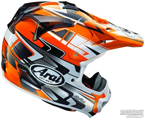 pro motocross com mxa team tested arai vx pro4 helmet
