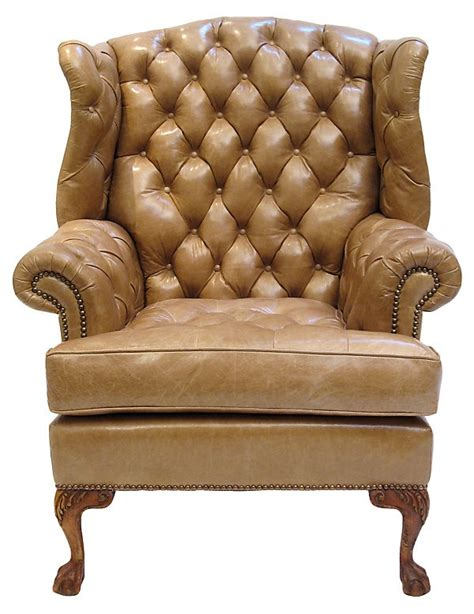 carlton chesterfield library reading wing back chair 29 best images about english leather chairs on pinterest