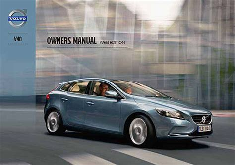 volvo    owners manuals