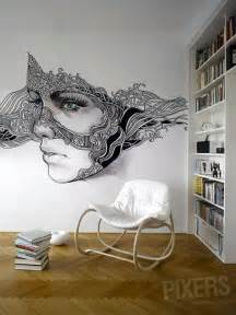 Painting A Wall Mural 40 easy wall art ideas to decorate your home
