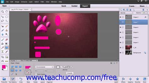 tutorial adobe photoshop elements 12 photoshop elements 12 tutorial using the shape tools adobe