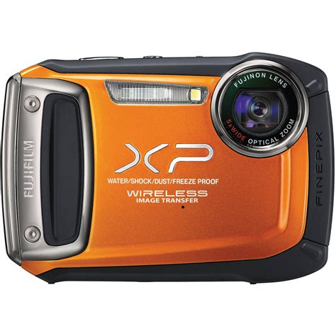 fujifilm finepix xp170 digital orange 16257019 b h