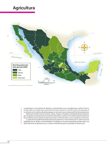atlas de mxico 4 grado 2015 2016 agricultura bloque iv lecci 243 n 1 apoyo primaria