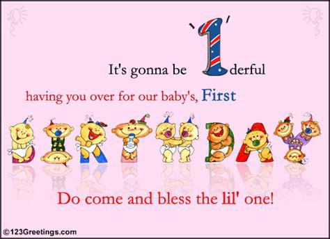 make the 1st birthday so special best birthday wishes