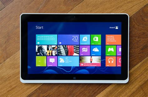 Tablet Acer the clover trail atom z2760 review acer s w510 tested