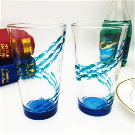 cool glassware diy custom wine glasses and unique glass painting designs