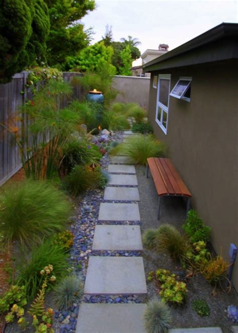 mid century modern front yard landscaping landscape design mid century modern backyard ideas found on