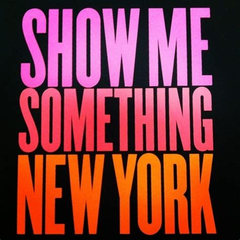 you do something to me new york sullivans 3 show me something new york true words