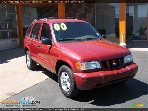 2000 Kia Sportage 4x4 2000 Kia Sportage 4x4 Classic Gray Photo 4