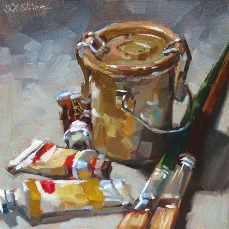 Painting Utensils by Werner Grungy Goodness An Painting Of