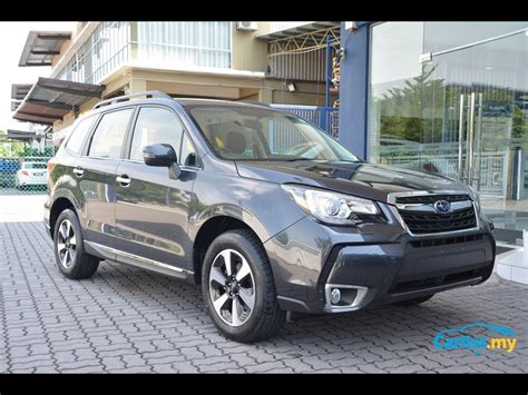 how much is a new subaru forester new 2016 subaru forester ckd launched in malaysia