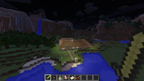 mod game farm village minecraft small village farm v 1 0 maps mod f 252 r minecraft