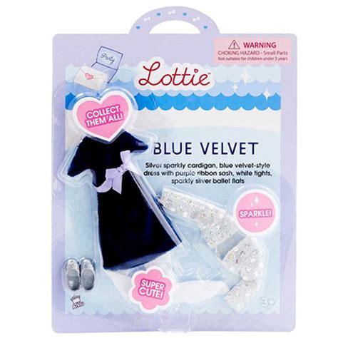 lottie doll blue velvet lottie blue velvet