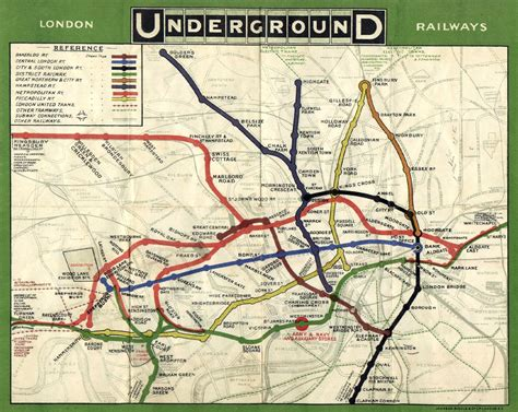 underground map 17 underground maps you never knew you needed