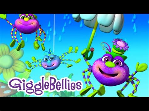 row your boat gigglebellies itsy bitsy spider nursery rhyme the gigglebellies