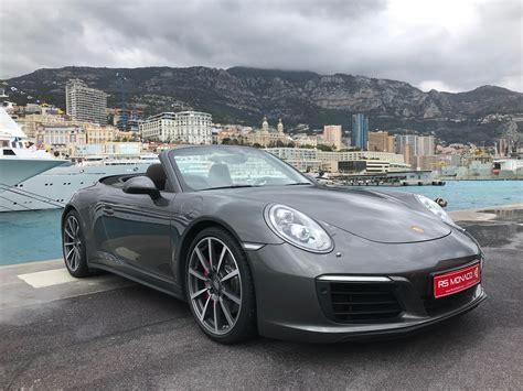 Porsche 991 Cabrio 4s by Porsche 991 2 Cabriolet 3 0 420 4s Pdk