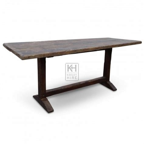 prop hire 187 tables 187 6ft wood table keeley hire