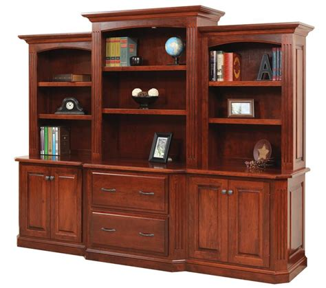 Buckingham Office Lateral File Cabinet, Credenza and Optional
