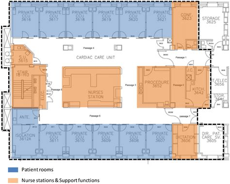 icu floor plan behavioral sciences free full text network of spaces