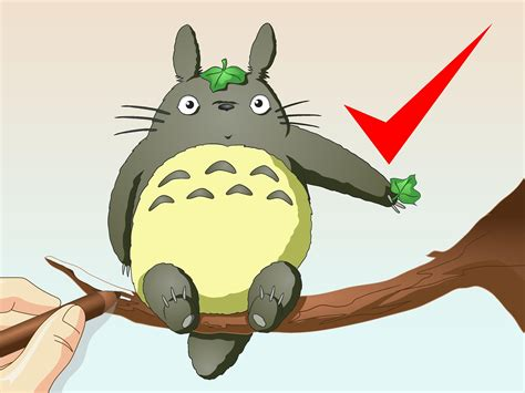 images to draw how to draw totoro 14 steps with pictures wikihow