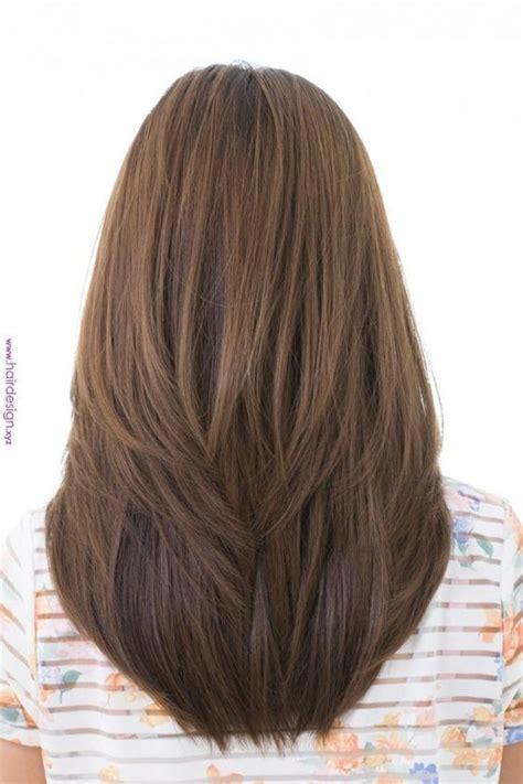 model rambut panjang oval