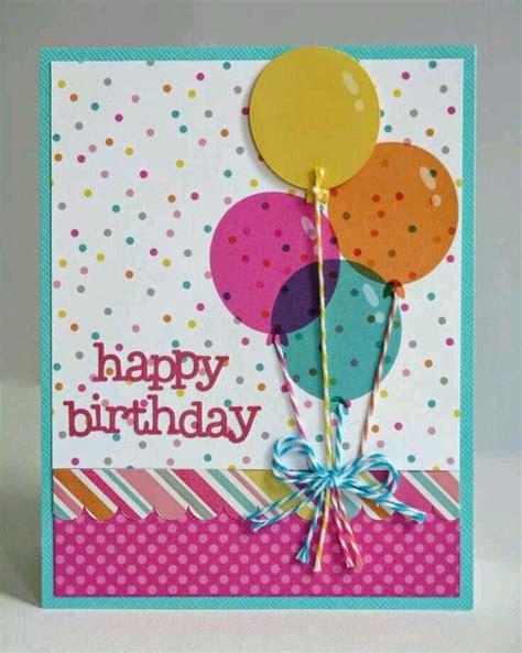 Happy Birthday Handmade Card Designs 25 Best Ideas About Happy Birthday Balloons On Pinterest