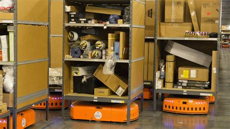 amazon robot exclusive with new robot in the works kiva systems will