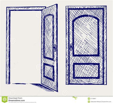 open sketch open door drawing pilotproject org