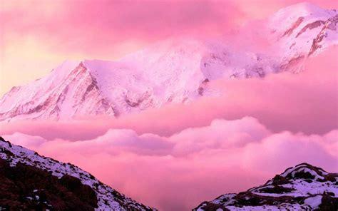 wallpaper 4k pink pink mountains 4k wide ultra hd wallpaper hd wallpapers