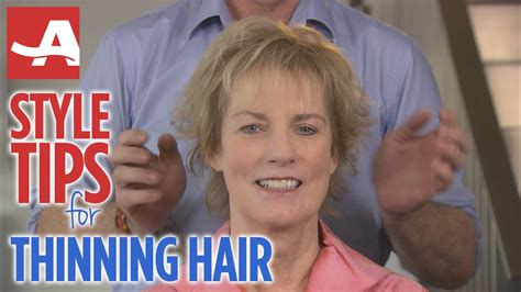 how to style jair when crown is thin style tips for thinning hair best of everything aarp